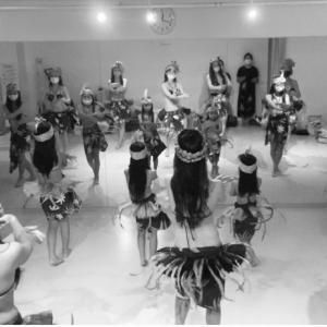 渋谷 タヒチアンダンス!イベントに向けて!