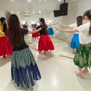 渋谷 フラ経験者クラス!