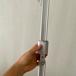 【防災グッズ】冷蔵庫に使った強力耐震ツッパリ棒