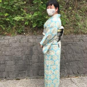 小千谷紬の着物