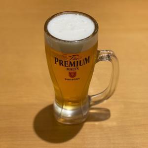 スシローでカニ祭り!私はビール!