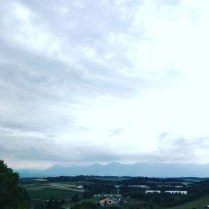 テント前の🏕景色🤗
