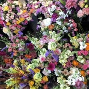 花束いっぱい