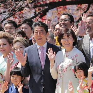 来年の「桜を見る会」は中止に多事争論