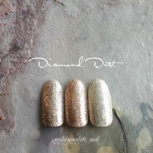 ♡♡♡『Diamond Dust シリーズから新色登場』 by mylovemylife_nail