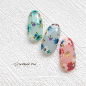 ♡♡♡『ボタニカルガーデン』 by mylovemylife_nail
