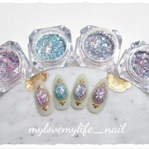 mylovemylife_nail♡ジュエリーホログラムグリッター 4色set