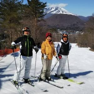 スキーに行きました