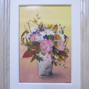 銀ポプラの花瓶