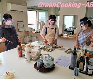 感染対策を行っている料理教室!笑顔の食卓で免疫力アップ! ~薬膳と栄養学のヘルシーレシピ~湘南茅ヶ崎健康料理教室「GreenCooking-ABE」
