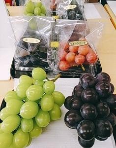 神奈川のブドウ 小房のブドウ 試食調査会  ~薬膳と栄養学のヘルシーレシピ~湘南茅ヶ崎健康料理教室「GreenCooking-ABE」