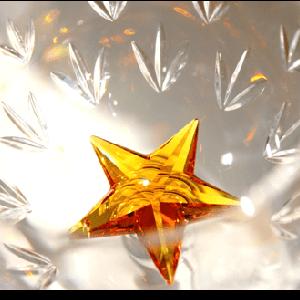 ◆ 愛らしい~♪ 星型スワロフスキー ◆