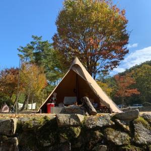 秋晴れキャンプ〜