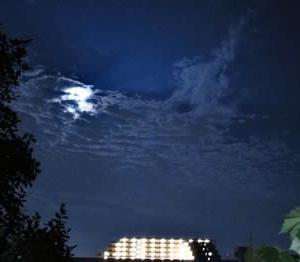 今日の満月はスタージェンムーンという