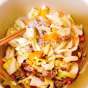 野菜炒め食べた日