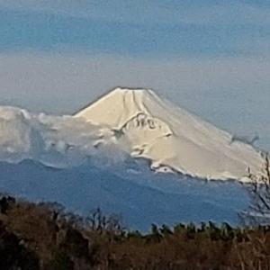 今日の富士山は真っ白!