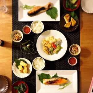 和食な夕ご飯