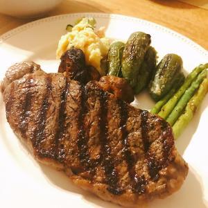 コストコ肉でステーキ