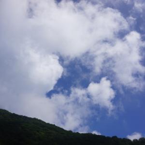 猛暑を逃れて赤城山頂の湖へ