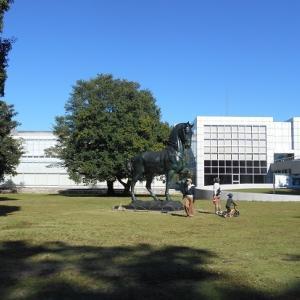 秋の群馬県立近代美術館