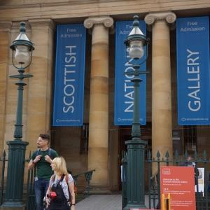 イギリス旅行5 スコットランド国立美術館へ
