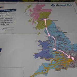 イギリス旅行9 湖水地方から5時間南下