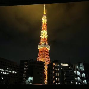 東京タワーも応援