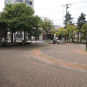 室蘭市 野外彫刻 中央町小公園~JR室蘭駅