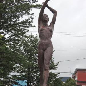 新得町 野外彫刻 JR新得駅~新得町役場