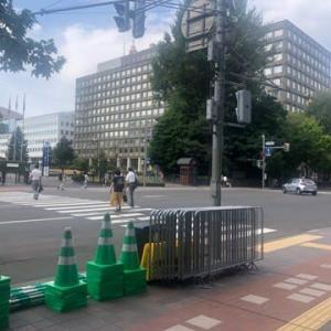 東京2020オリンピック マラソン競技の準備中