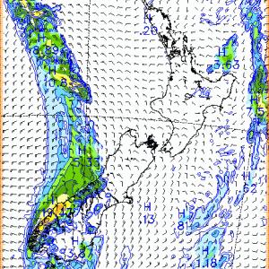 Auckland、2019年12月13日8時の天気は