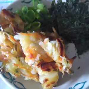 家で日本蕎麦を茹でて