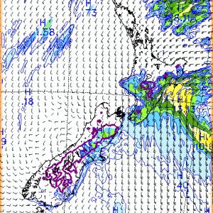 Auckland、2020年7月2日8時の天気は