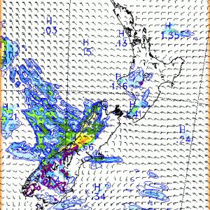 Auckland、2021年7月15日8時の天気は
