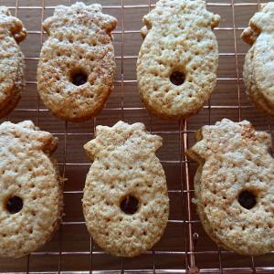 パイナップルジャムサンドクッキー