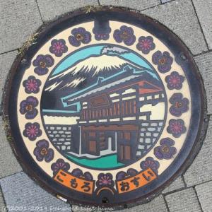 長野県小諸市のマンホール