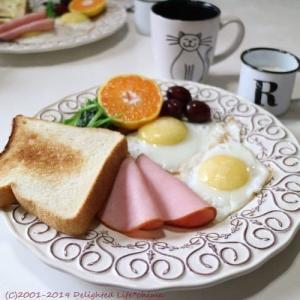 みず穂の和み 生食パンと水芭蕉卵の目玉焼き~休日ブランチ