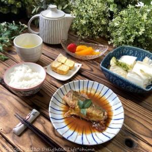 主婦めし*おうちランチ~サバの味噌煮定食