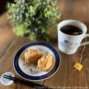 あべかわ餅の朝ごはん