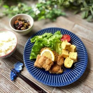 主婦めし*おうちランチ~白身魚のバター醤油焼き