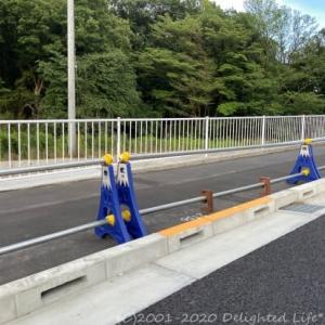 富士山の単管バリケード