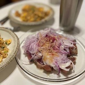 豚肉チャーハン&鰹のたたき