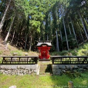 山奥にひっそりたたずむ神秘の金生神社【甲府市】