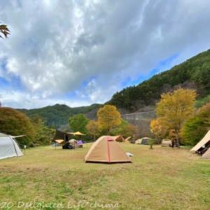 樽尾沢キャンプ場で星空の秋キャンプ【伊那市】