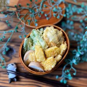 天ぷら弁当、再び。