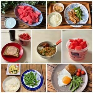 退院後の術後食~食事記録