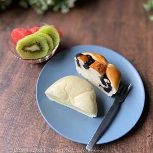 Coconのパン・豚ピーマンの塩生姜焼き・豆腐と玉子の雑炊~食事記録