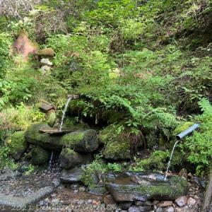 八ヶ岳の伏流水~阿弥陀聖水【原村】