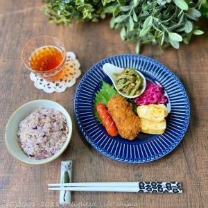 納豆ごはん・カニクリームコロッケ・チャーハン~食事記録