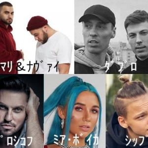 Russia Airplay Chart10 in TOPHIT.RU - '20年09月号